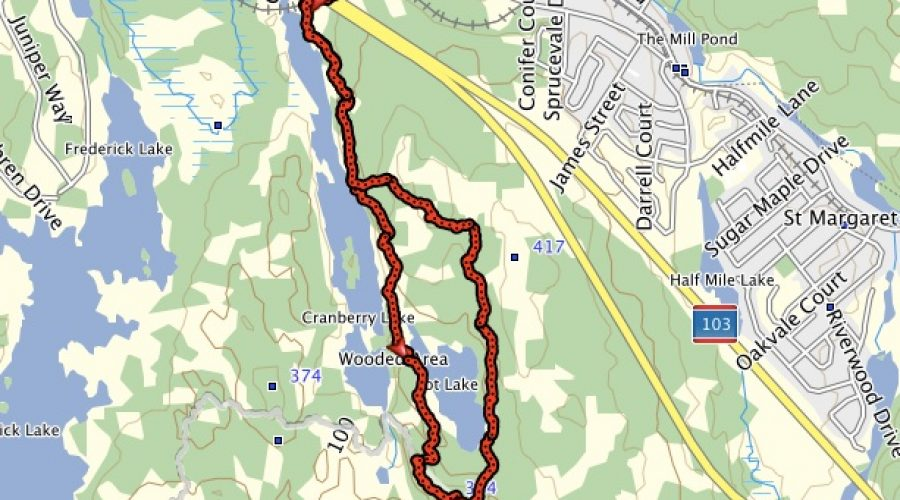 Bluff Wilderness Trail – Pot Lake