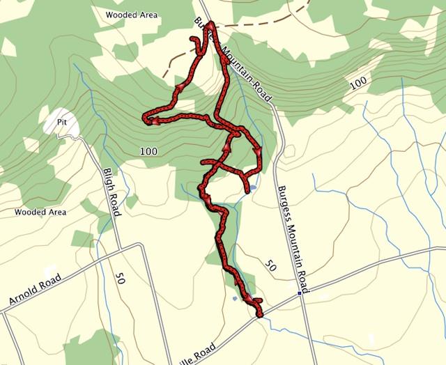 Woodville Hiking Trails