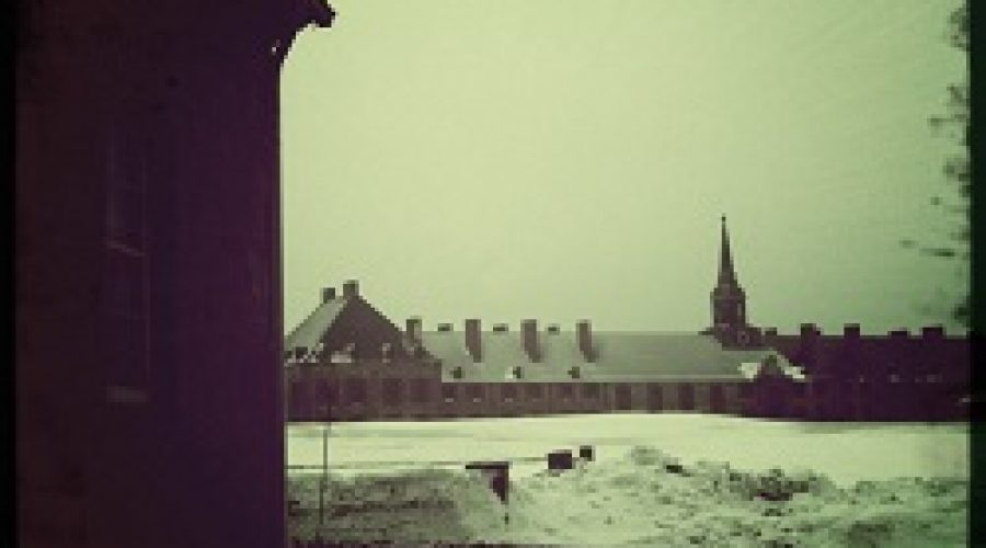 Winter at Fortress Louisbourg