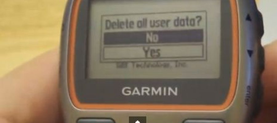 Garmin Forerunner 310 XT – How to Reset Your Device – When it is Dead – Resetting