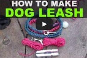 Camping Knots to Make a Dog Leash