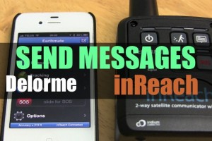 Delorme inReach – Messaging