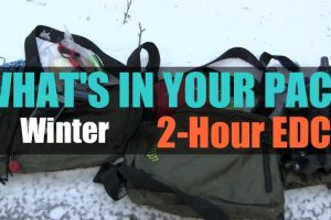 What's In Your Pack – Winter EDC