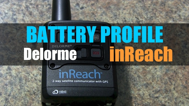 Delorme inReach – Battery Profiles