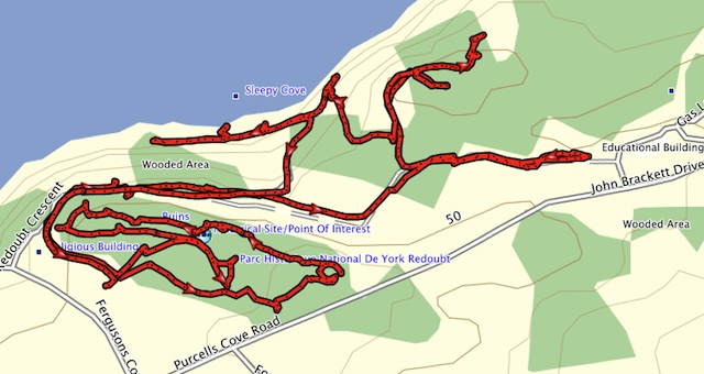 Hiking And Exploring York Redoubt Historic Site