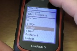 Garmin eTrex 20 – How To Change Data Fields