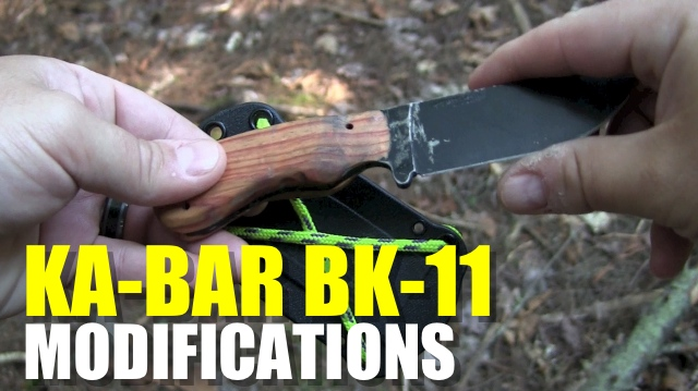 KA-BAR BK-11 Mods