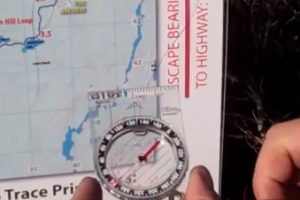 Map & Compass – Safety Bearing