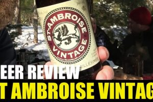 St Ambroise – 2011 Vintage Ale – Aged 3 Years