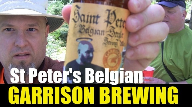 Garrison Brewing – St Peter's Belgian Strong