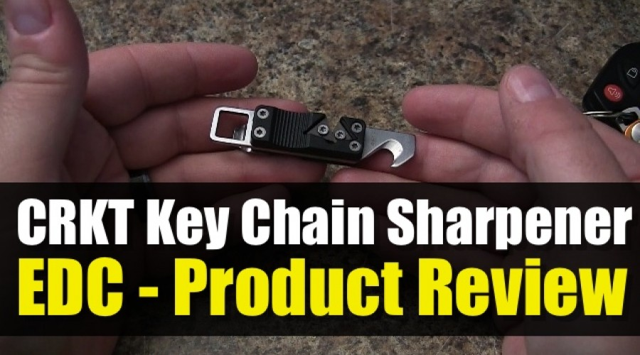 CRKT Key Chain Sharpener – Product Review