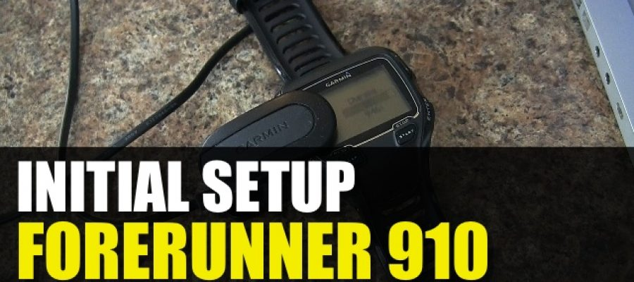 Garmin Forerunner 910 – How To Get Started