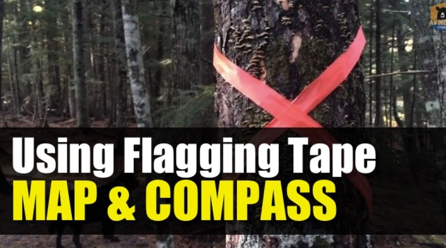 How to Navigate Using Flagging Tape