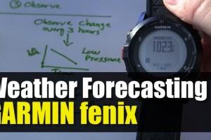 Weather Forecasting Using Your GPS Barometer