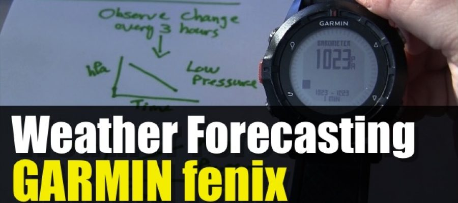 Weather Forecasting Using Your GPS Barometer