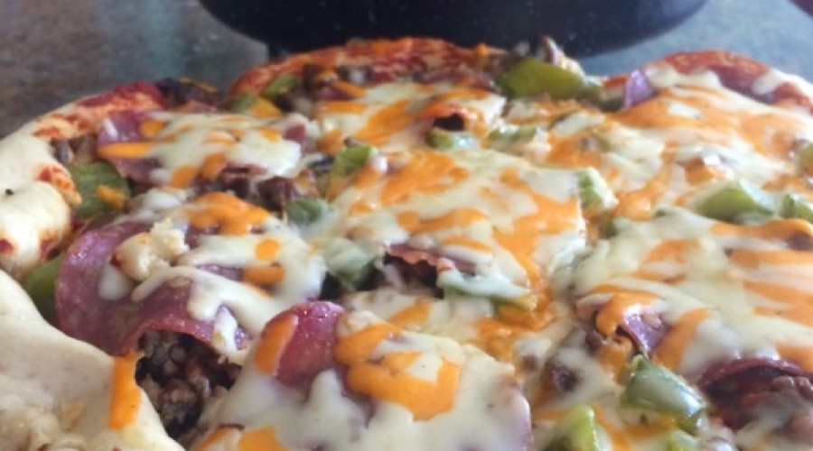 Deep Dish Pizza In A Dutch Oven With Yippee IPA | Avoiding Chores