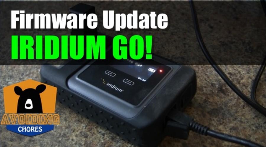 Iridium GO! – How to Update Firmware