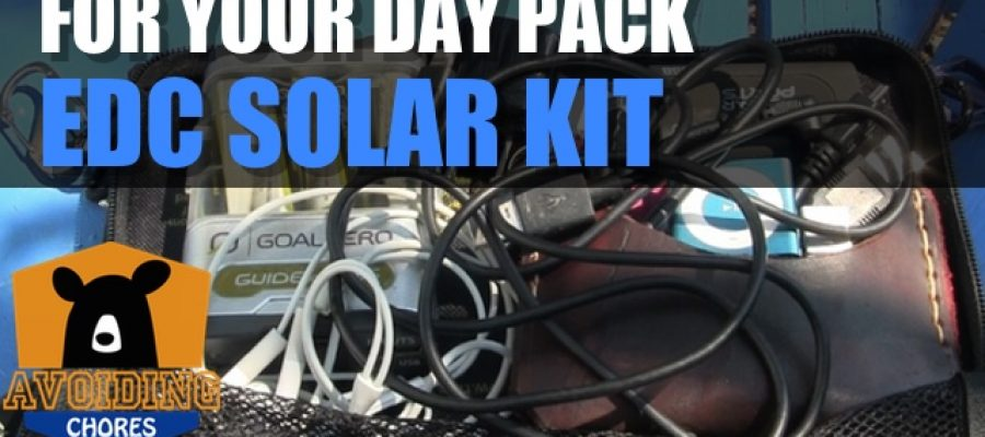 Solar Kit For Your Day Pack