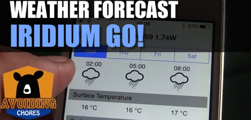How To Get Weather Forecast Using Iridium GO!