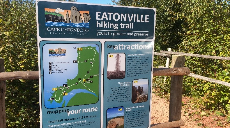 Cape Chignecto Day Use Hiking Trails in Eatonville