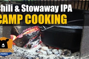 Dutch Oven Chili and Stowaway IPA
