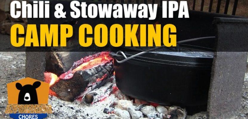 Dutch Oven Chili and Stowaway IPA
