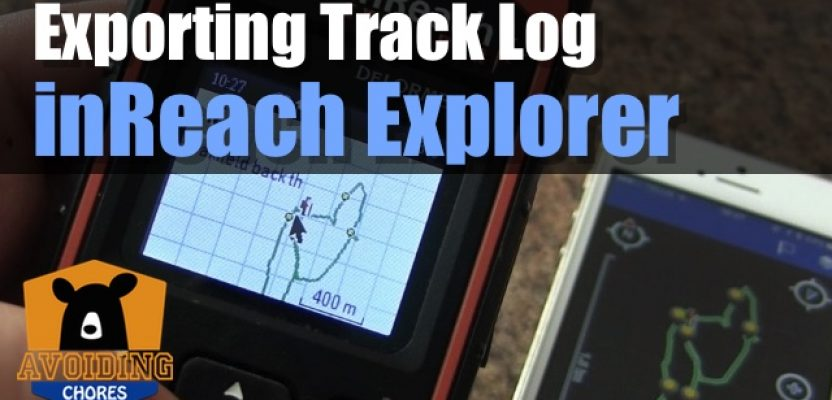 How to Export The Track Log From Your Garmin inReach Explorer