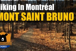 Mont Saint Bruno – Hiking in Montreal