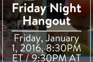 The Hangout Returns! Jan 1 2016