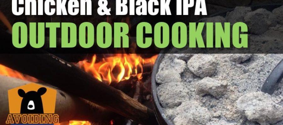 Vinegar Braised Chicken & Black IPA