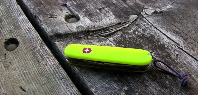 Victorinox Swiss Army Knife Climber With Stay Glow Scales
