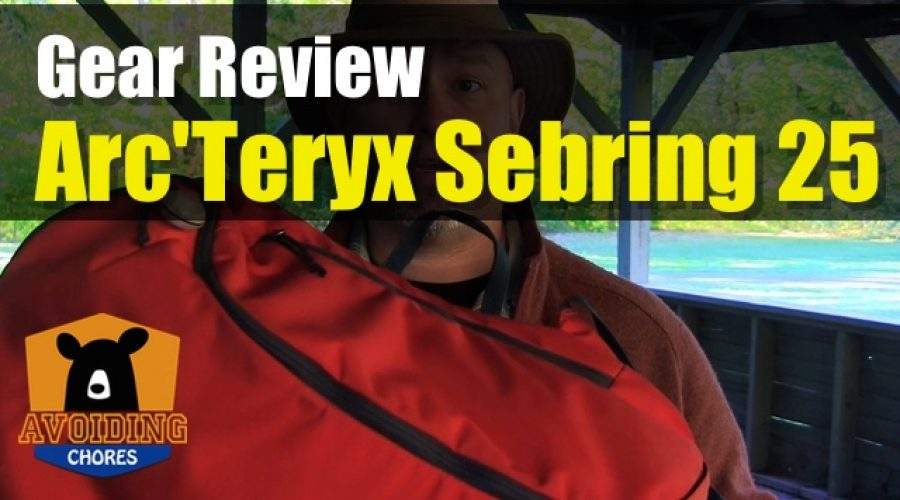 Great Commuter Backpack The Arc'Teryx Sebring 25