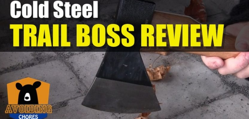 Great Value For Money The Cold Steel Trail Boss Camping or Bushcraft Axe Product Review