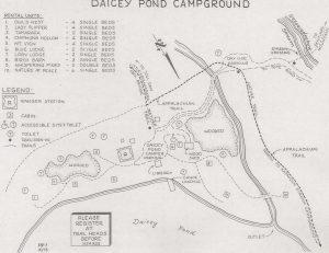 daicey pond map