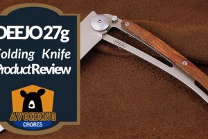 A Highly Customizable Folding Knife from Deejo
