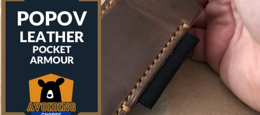 Popov Leather EDC Pocket Armour Review