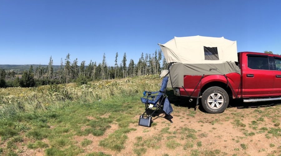 Truck Camping With Kodiak Canvas Truck Tent