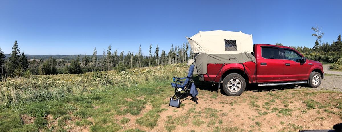 Truck Camping With Kodiak Canvas Truck Tent Avoiding Chores