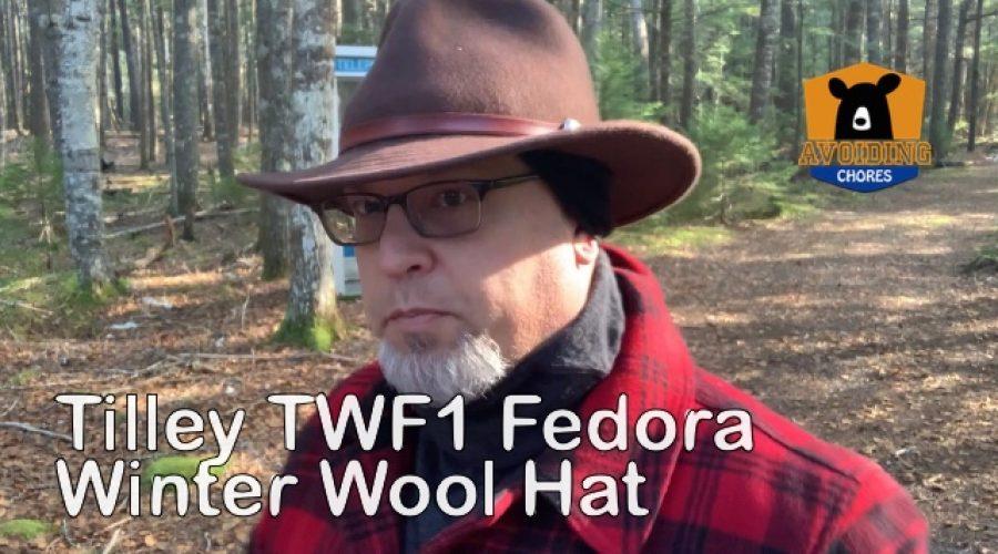 Tilley Wool Fedora Montana Hat